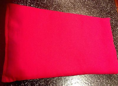 HOT PINK Microwave HEAT Or COLD Compress Wheat Heat Pack Bag 100% Cotton -Wow