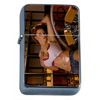 German Pin Up Girls D13 Windproof Dual Flame Torch Lighter Refillable