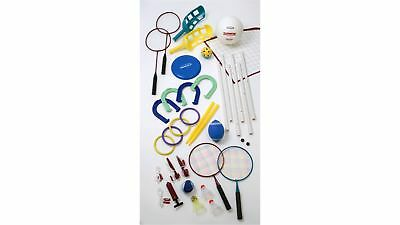 Halex 10 Game Set Backyard Exercise Sports Volleyball, Badminton, Football
