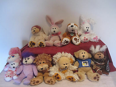 Beanie Kids bulk lot retired x 10, including 7 animal theme 1 rare s