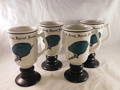 Vintage Set Of 4 U.S. Army Special Forces Glasses
