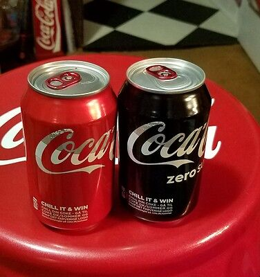 coca cola set from denmark thermal chill color change can