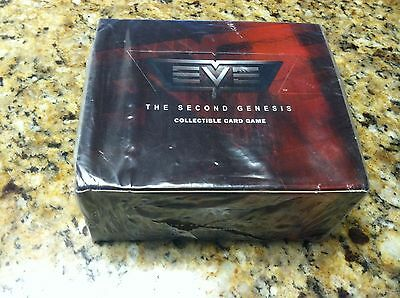 24 booster Pack Display box Eve The Second Genesis Collectible Card Game 240 car