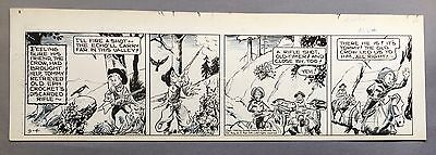 Broncho Bill Daily 9-4-45, Original art Harry O'Neill