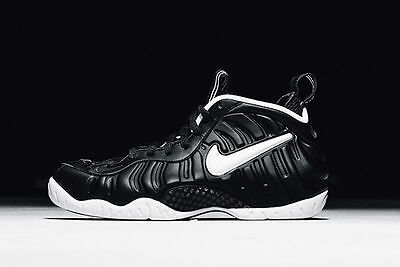 Nike Air Foamposite Pro Dr. Doom Black White Size 11. 624041-006  Penny royal