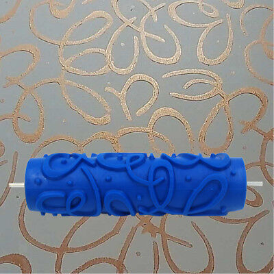 Magideal Abstract Texture Paint Roller for Wall Ceiling Art Painting 7inch