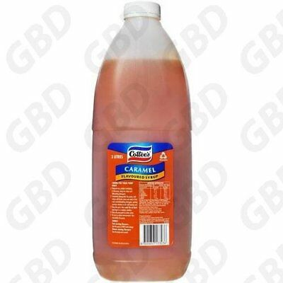 Cottees Caramel Topping Flavouring Syrup 3L