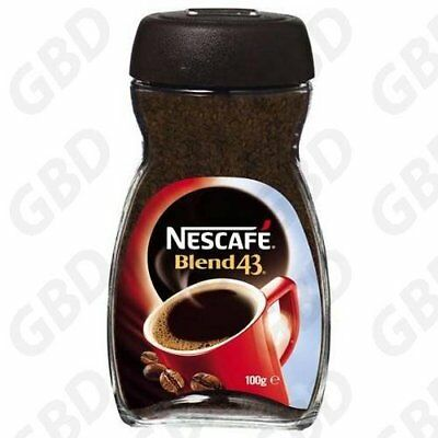 12x NESCAFE BLEND 43 COFFEE 100GM