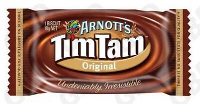 1x ARNOTTS BISCUITS TIM TAM CHOCOLATE PORTIONS 150S