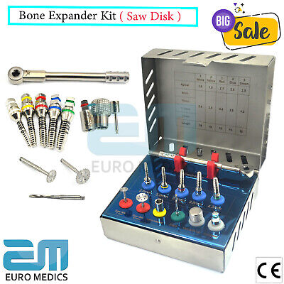 Dental Implant Bone Expander With Saw Disks Preparation Kit High Quality Tool CE