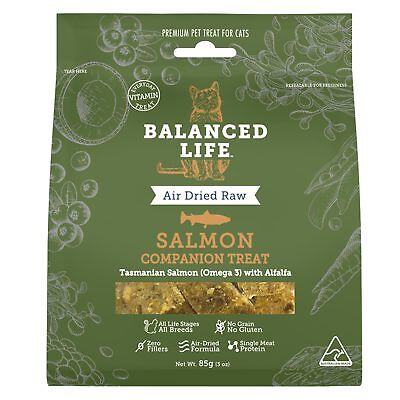 Balanced Life Salmon Companion Treat 85G Cat Air Dried Natural Treat Healthy
