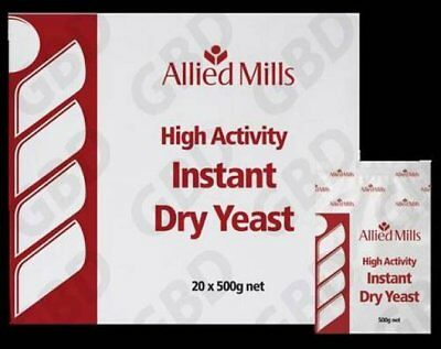 Allied Mills Instant Dry Yeast 500Gm