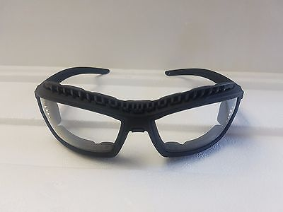 Safety Glasses with Dust Guard - Clear - HCAF 12 pack