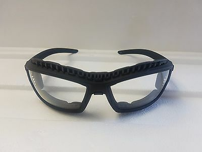 Safety Glasses with Dust Guard - Clear - HCAF (Single)