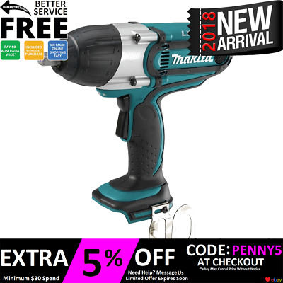 "Makita Lxt 18V Detent Pin High Torque 1/2"" Impact Wrench  Xwt04 Dtw450"