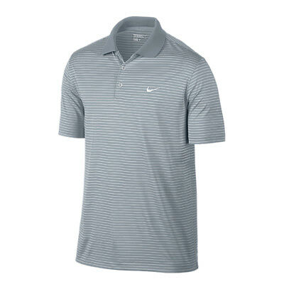 NEW Nike Victory Stripe Polo LC - Lt Magnet grey [Size: XX Large]
