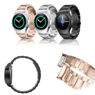 For Gear S2 Watch Band Samsung Gear S2 SM-R720/R730 Stainless Steel Strap Bands