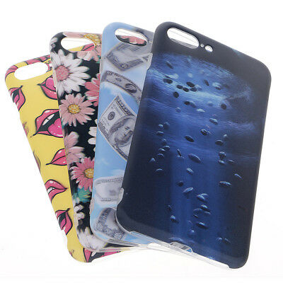 Popular 3D Case Soft Solid Plastic Protective Cover Skin For Apple iPhone 7 plus