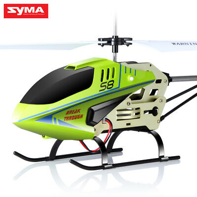 Syma S8 Infrared Radio RC Helicopter with Gyro Mini RC Toys RTF AU Gifts for Kid