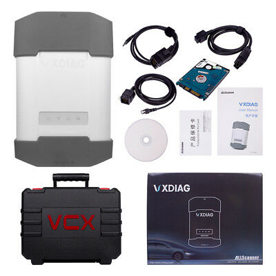 VXDIAG VCX Diagnostic Tool Code Reader For BMW & BENZ With 1TB HDD Software