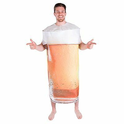 Adult Mens Ladies Funny Pint Beer Food Drink Fancy Dress Costume Outfit Stag Hen