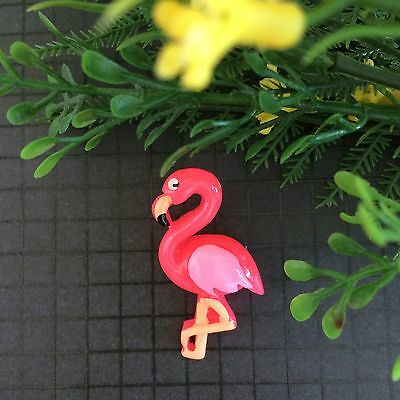 Pink Flamingo Brooch Pin/Lapel/ Coat /Backpack/Retro Vintage Rockabilly Badge