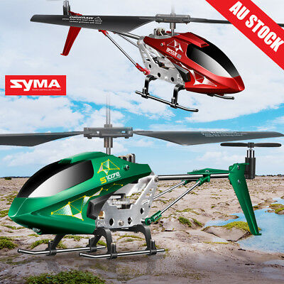 Syma S107E 3.5Ch Remote Control with Gyro LED Light RC Helicopter FOR GIFT AU