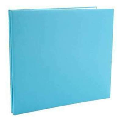 NEW Colorbok Fabric Post Bound Album 12In. X12in.  Light Teal