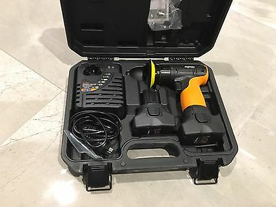 Genuine 16v SP Tools Mini Polisher Charger and 2x Batteries (Only used ONCE) NEW
