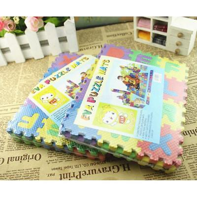 36pcs Baby Kids Alphanumeric Educational Puzzle Blocks Infant Child Toy E9