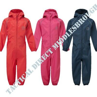 Blue Castle Kids All In One Rainsuit 1Yr - 8Yr Puddle Suit Overalls Boys Girls
