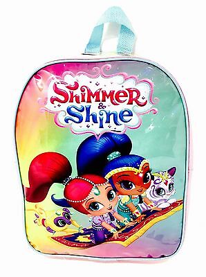 SHIMMER AND SHINE: JUNIOR BACKPACK - Back to School / Travel  - WH4 - 647 - NEW