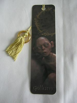 Lord of the Rings LOTR bookmark Antioch Gollom with ring