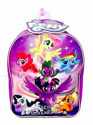 My Little Pony - JUNIOR BACKPACK - Back to School / Travel Bag - WH4 - 593 - NEW