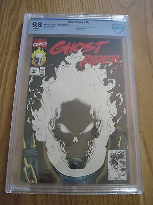 Ghost Rider 15 CBCS 9.8 glow-in-the-dark cover Marvel 1991 not cgc Free Shipping