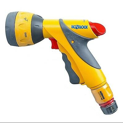 Hozelock 2684 Multi Spray Plus Spray Gun With Aqua Water Stop Connector