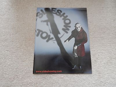 Sideshow Toys Early Advertising Catalog Promo Nosferatu Cover Universal Monsters