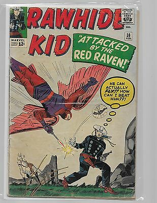 RAWHIDE KID # 38  Attack of the Raven/ 1964 complete key issue