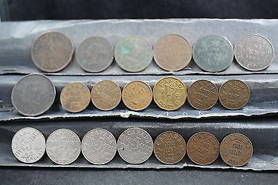 Canada 20 assorted coins   lot G 981