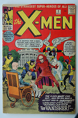 X-MEN #2 (Marvel 1963) 1st App The Vanisher (GD+)
