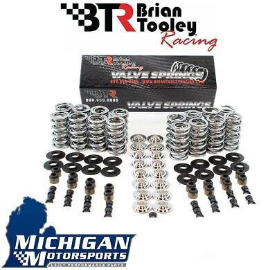 "Brian Tooley Racing BTR Dual Spring Kit .660"" LS1 LS2 LS3 LQ4 Titanium Retainers"