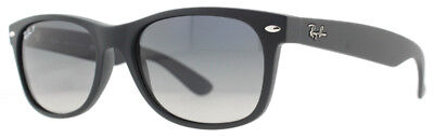 Ray Ban RB2132 601/S-78 52mm Matte Black Polarized Square Sunglasses