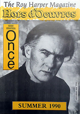 The Roy Harper Magazine 'Hors d'Oeuvres'   Issue No. 18 published in 1990