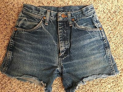 Vintage Wrangler High Waisted Jean Cut Off Shorts