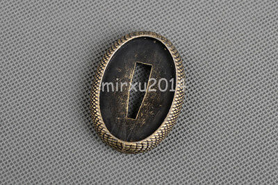 NEW Small Tsuba Retro Alloy Handguard for Katana Japanese Samurai Tanto Sword