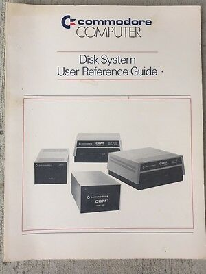 Commodore Computer Disk System User's Reference Guide Manual Pet 4040 8050 D9060