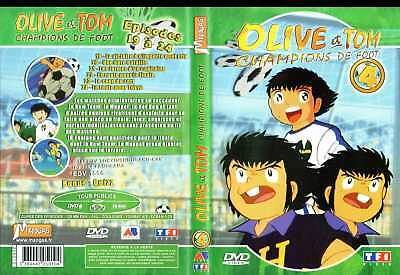 DVD Olive et Tom - Vol.4 | Manga | Lemaus