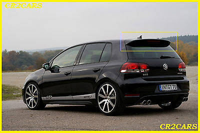 Vw Golf Vi Mk6 Gt R32 Rear/roof Spoiler (2008-2012)