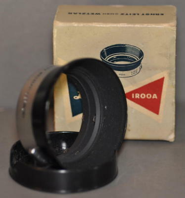 E. Leitz IROOA Lens Hood With Lens  Cap in Original Box
