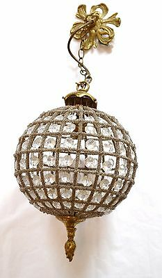 Vintage French Chandelier Circular  Ceiling Light